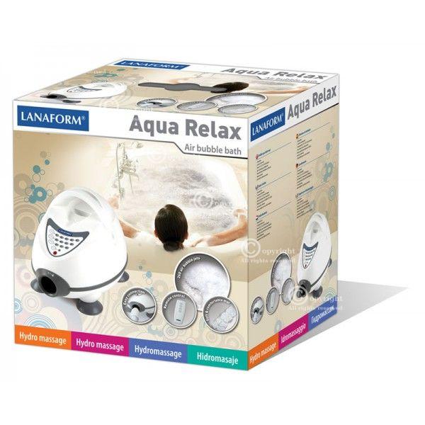 Rewelacyjny Mata masująca do wanny Lanaform Aqua Relax - ZY62